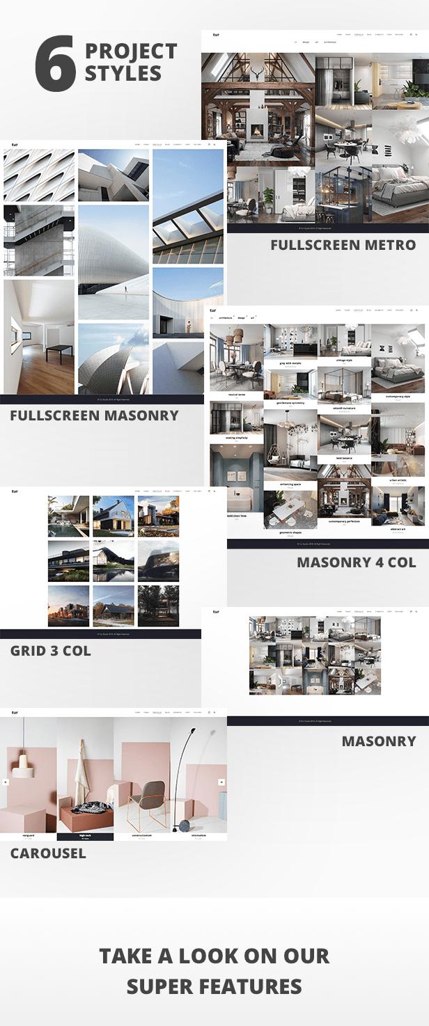 Architecture and interior design Tur - Architecture and interior design WordPress for architecture - 6