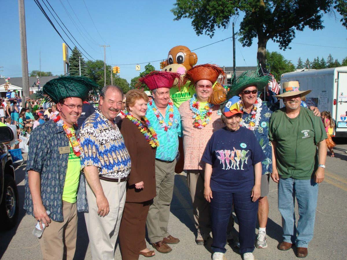 Cheeseburger in Caseville Parade of Tropical Fools