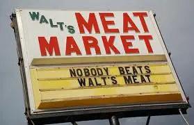 Walt's Meat Market