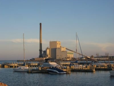 Harbor Beach DTE Plant