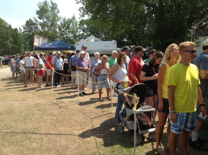 Bay Port Michigan Fish Sandwich Festival