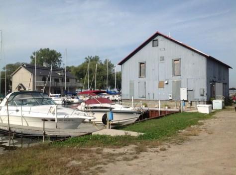 Bay Port Fish Co. Ice House