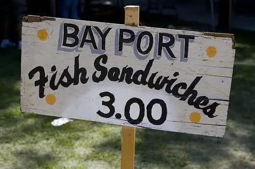 Bay Port Fish Sandwich