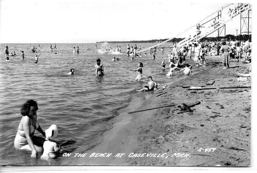 Caseville Postcard 1953
