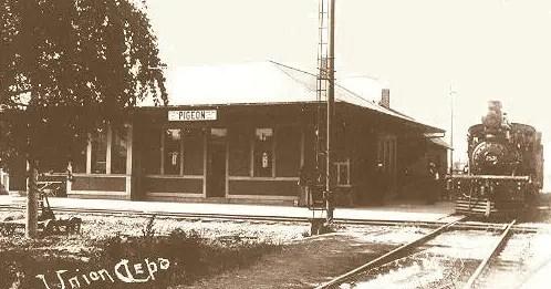 Pigeon-Michigan-Rail-Depot