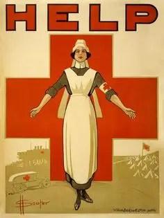 1881 Michigan Fire Red Cross