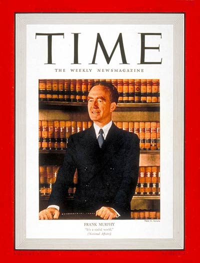Frank Murphy on Time Magazine