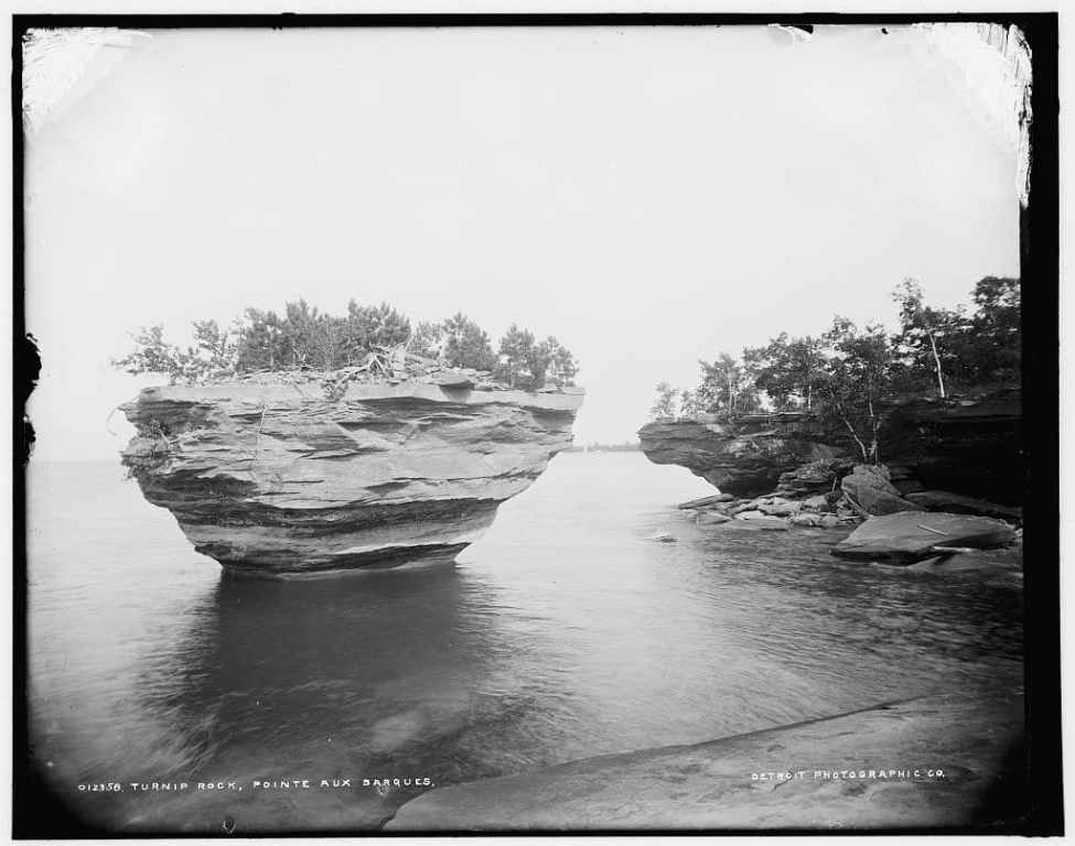 Turnip Rock at 1910