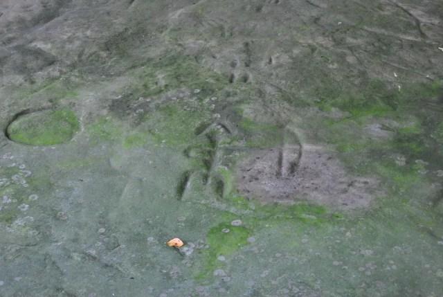 Upper Thumb Petroglyph Archer  - Michigan Thumb