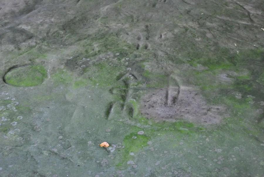 Upper Thumb Petroglyph Archer