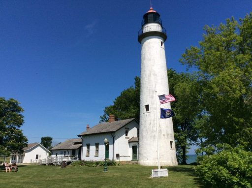 Haunted Michigan Pointe Aux Barques Lighthouse - Michigan Thumb
