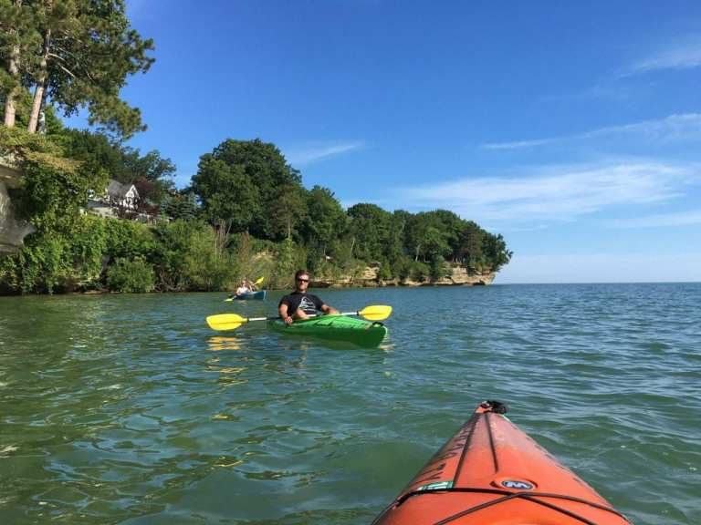 Pointe Aux Barques Paddle Michigan Kayaking