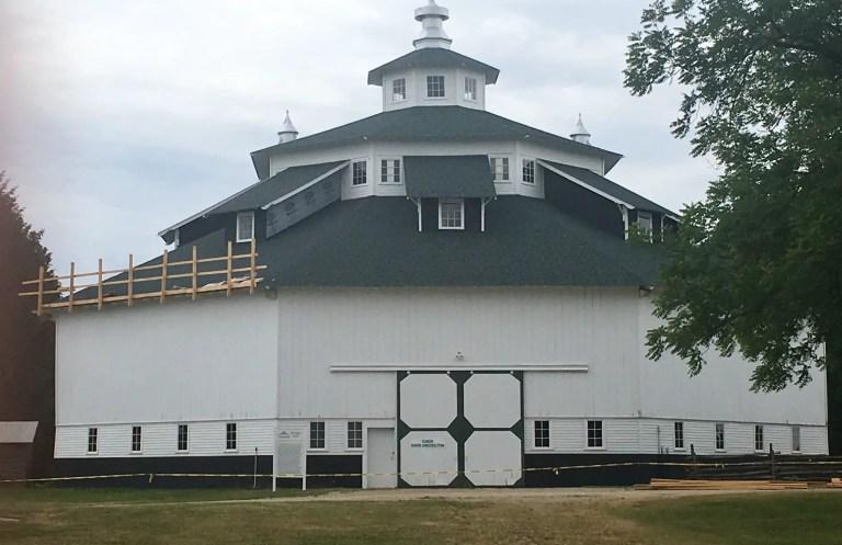 Octagon Barn Gagetown Michigan