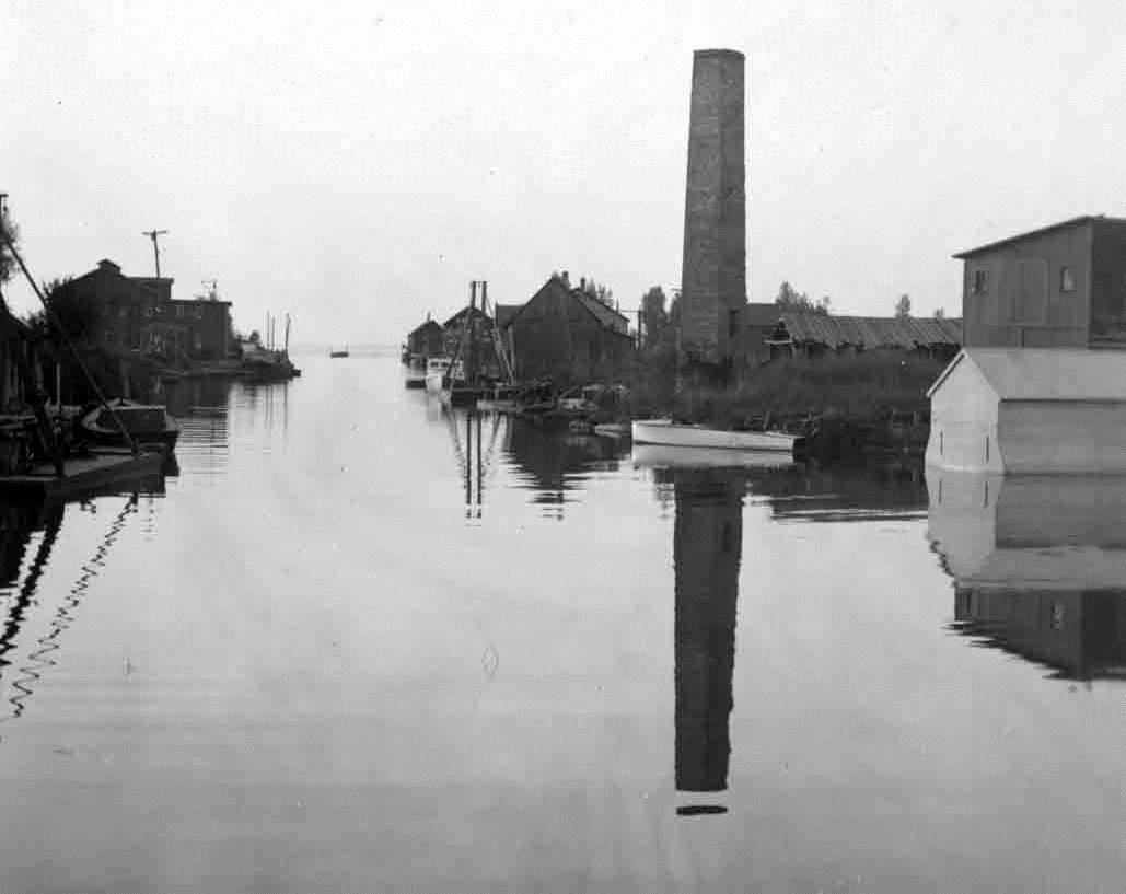 Caseville Harbor 1948