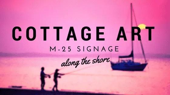 m-25 cottage art signs