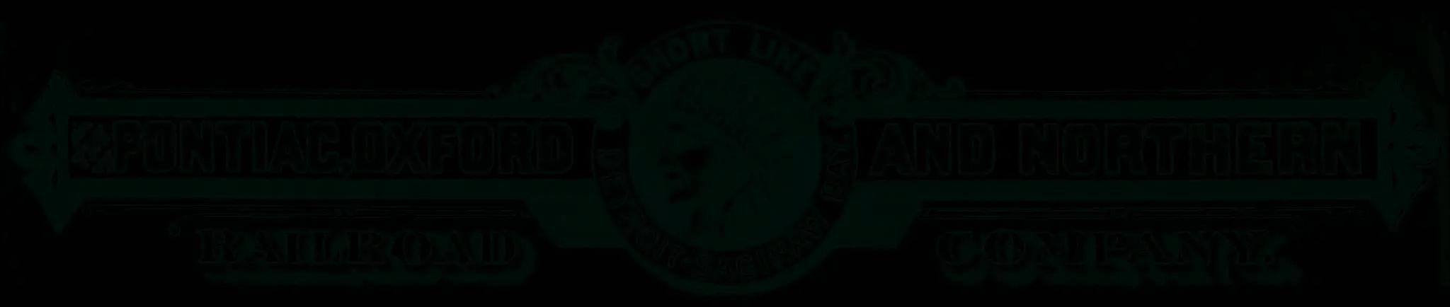 Thumb Railroad - Pontiac Oxford and Northern Railroad
