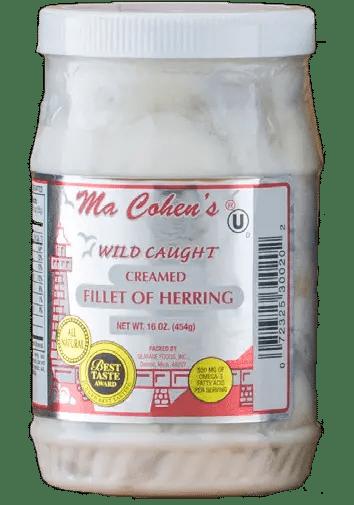 Ma Cohen's Creamed Herring