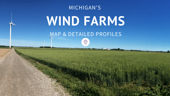 Michigan Wind Farm Map