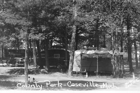 Thumb Pic of the Day – Caseville Vintage Camping
