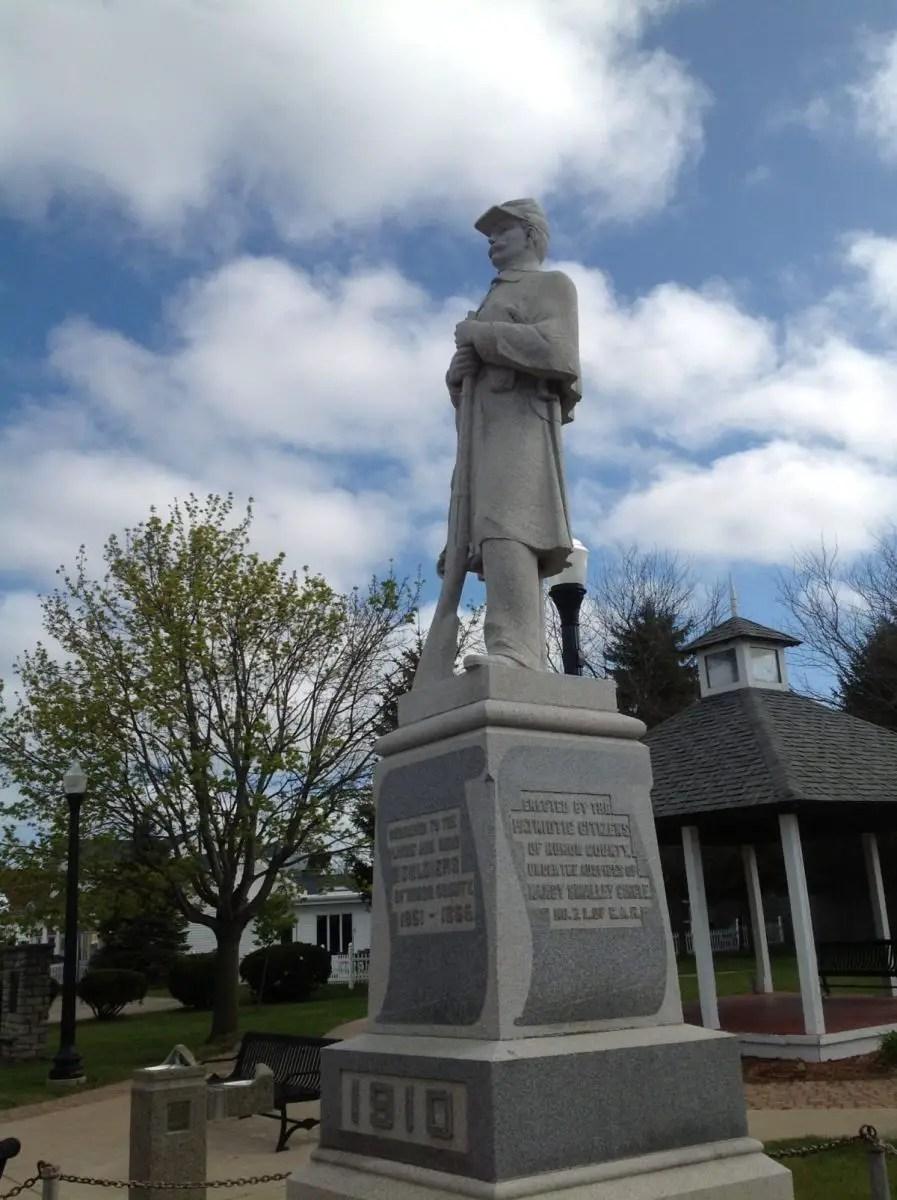 Caseville Statue