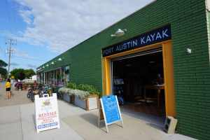 Port Austin Kayak Front Entry