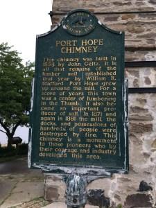 Port Hope Chimney