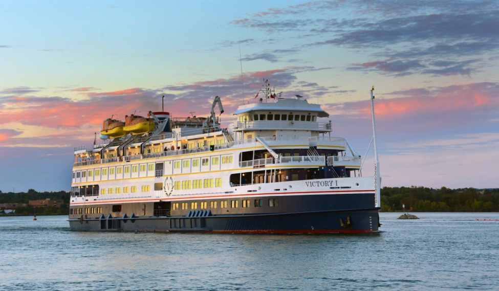Great Lakes Cruising - Victory I - Courtesy of Victory Cruise Lines