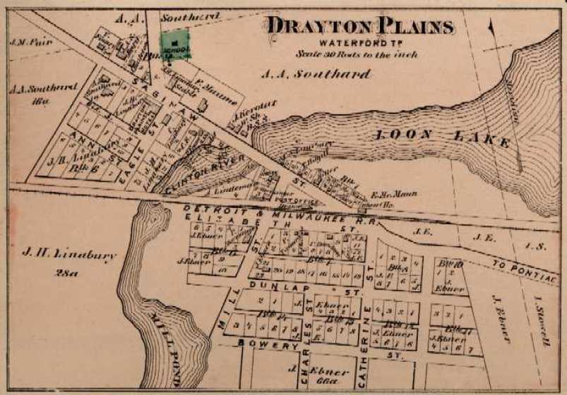 Drayton Plains 1872