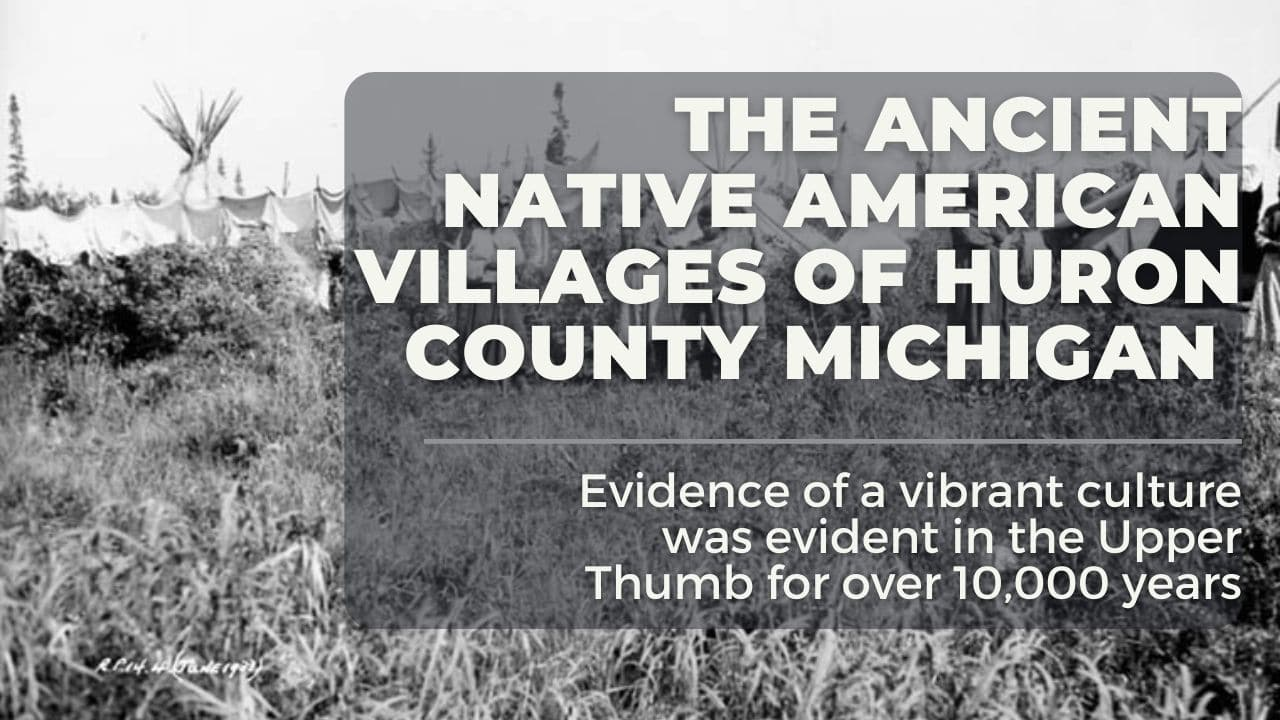 Native American VIllages Huron County