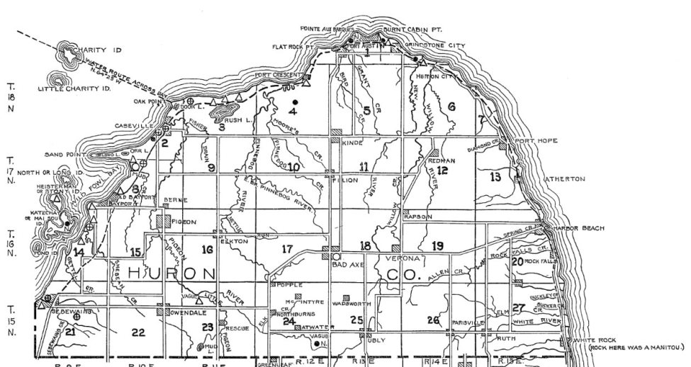 Huron County Indian Villages