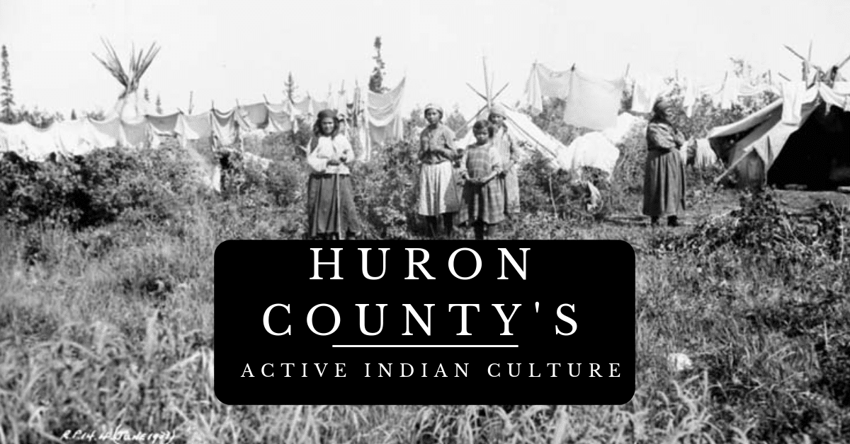 Indian Villages in Huron County