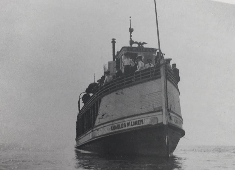 Steamer Charles W. Liken - Great Lakes Cruising History
