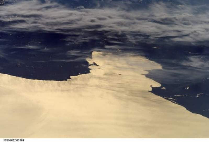 Charity Island from Space