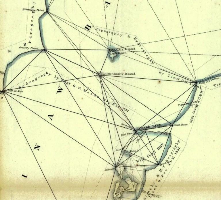 Meades Survey Map