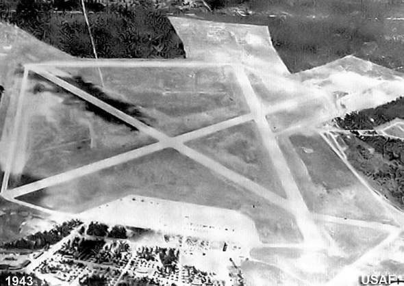 Oscoda Army Air Corp Base 1943