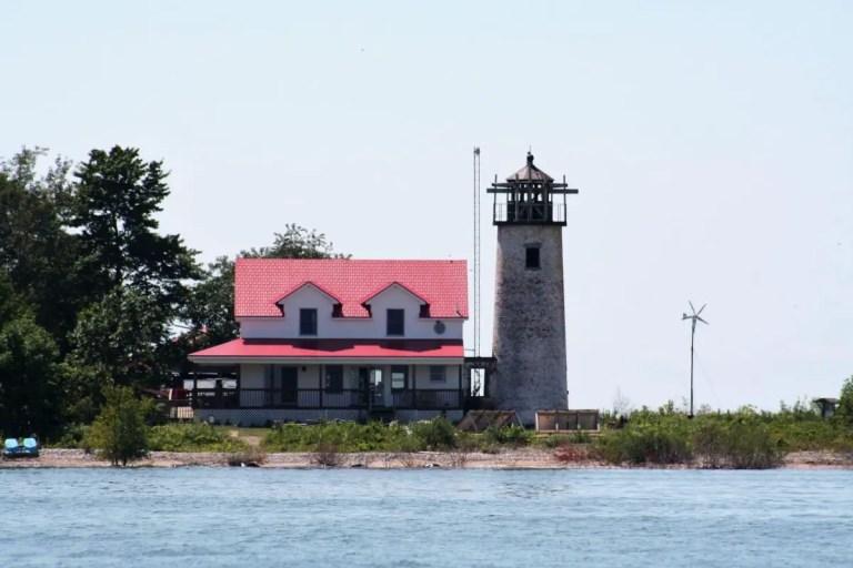 Charity Island LIghthouse - Caseville