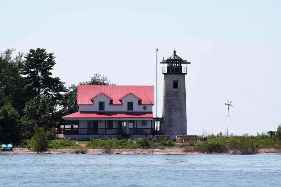 Charity Island LIghthouse - Caseville