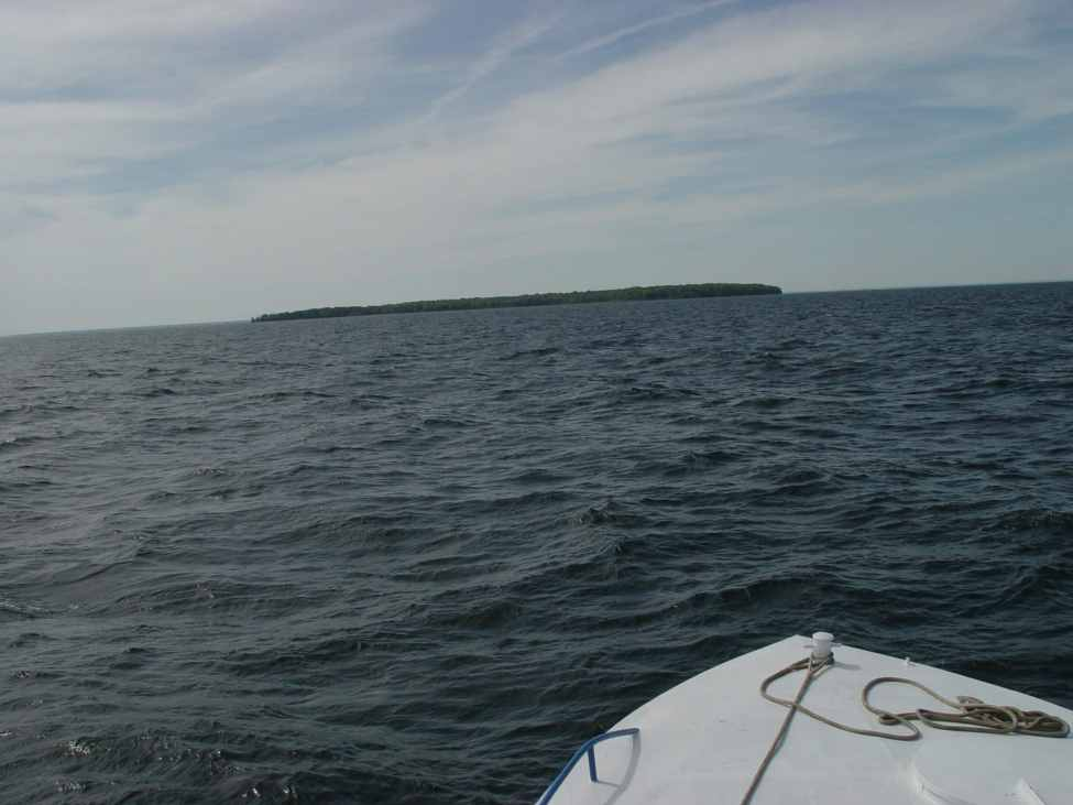 Charity Island on the Horizon