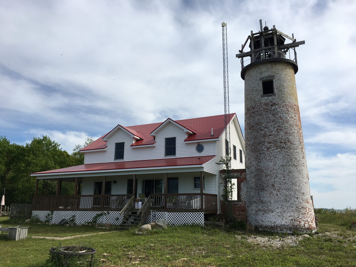 Michigan Lighthouses - Charity Island Tower