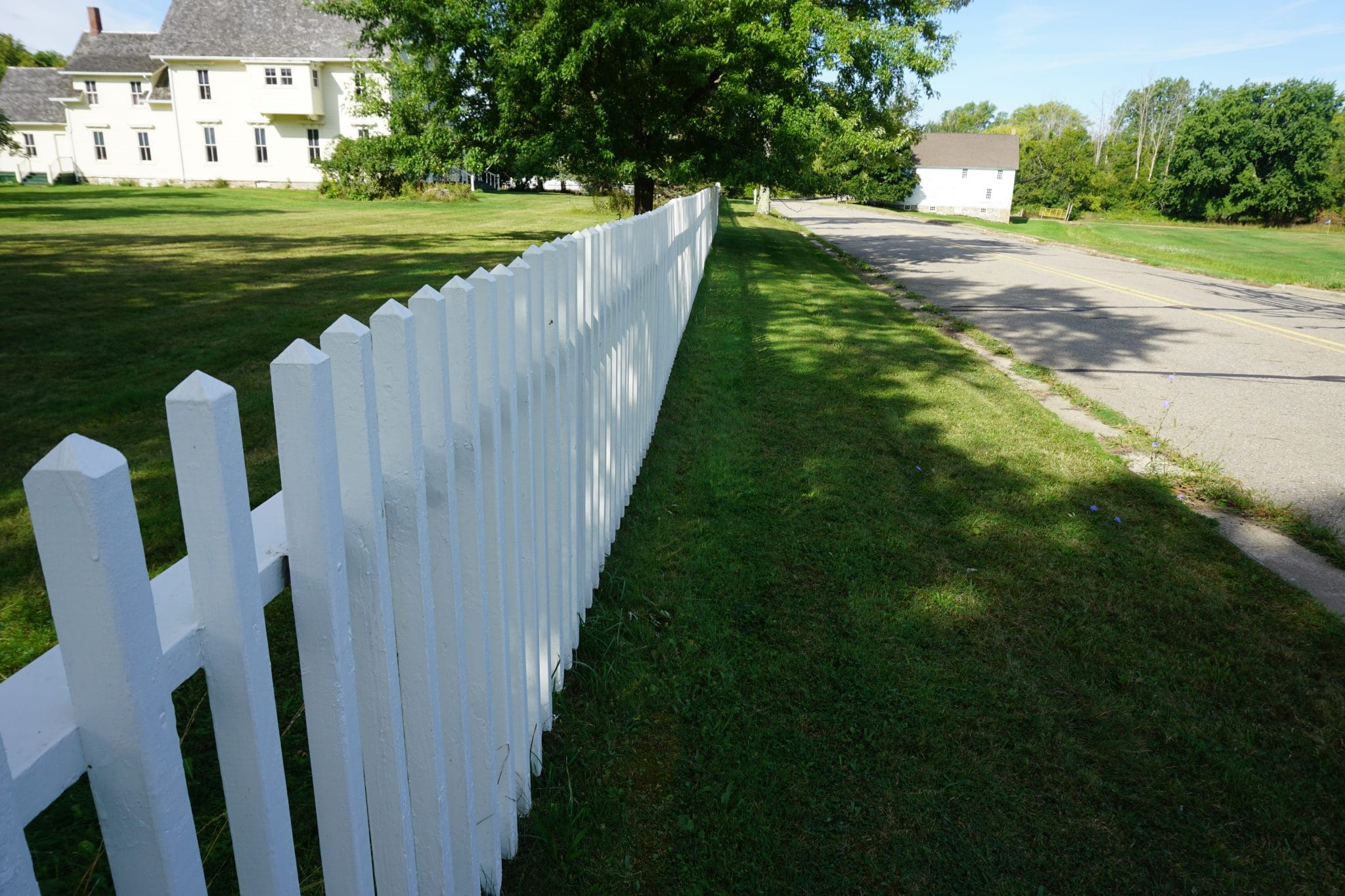 Langdon Hubbard House Fence