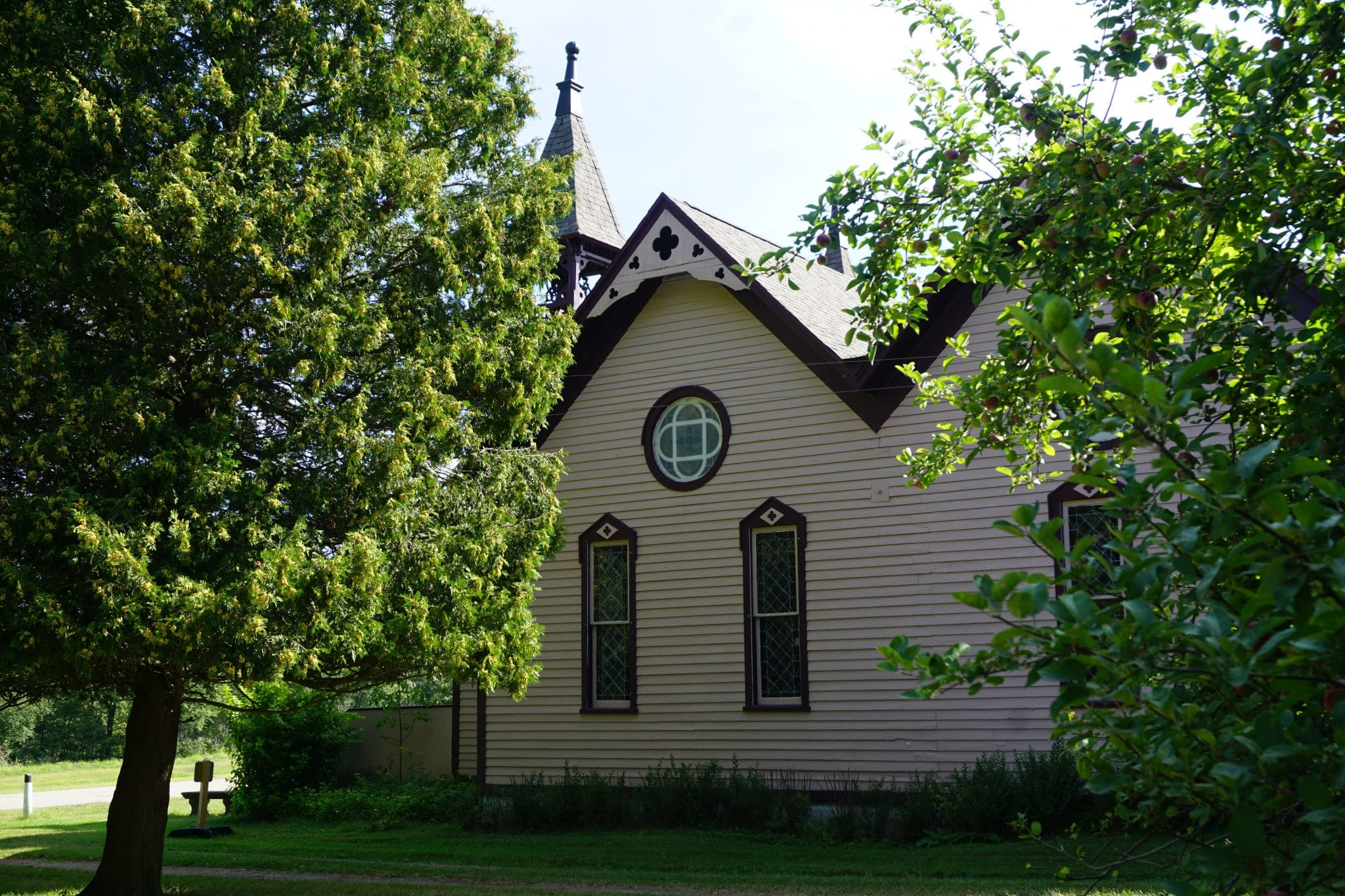 Huron City Memorial Church Side