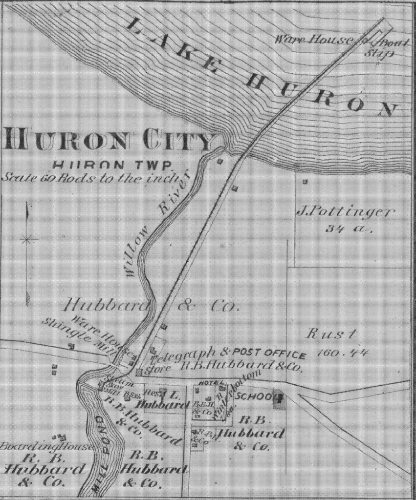 Huron City 1870