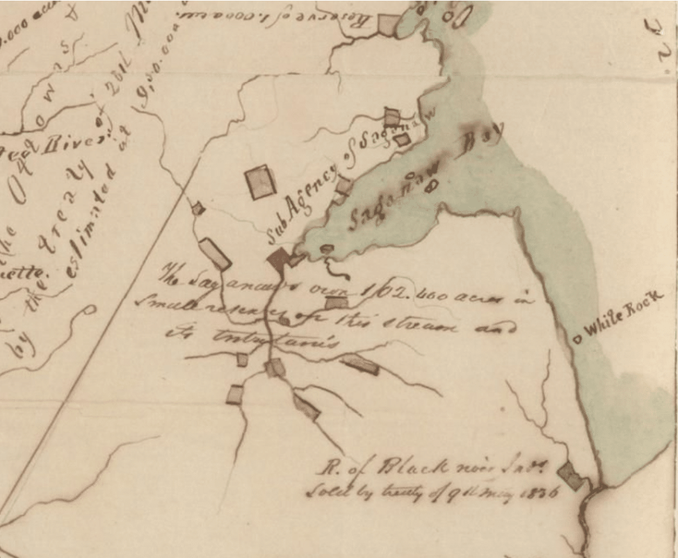 Indian Settlements in Michigans Thumb
