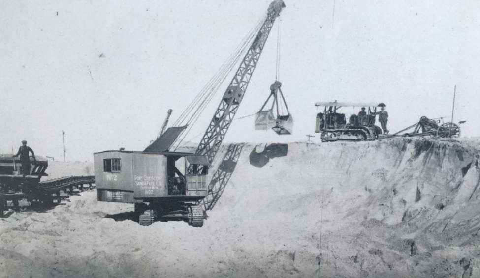 Sand Operations at Port Crescent