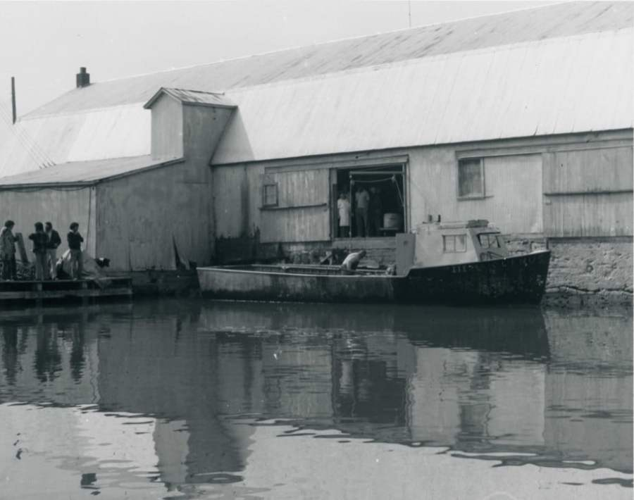 Bay Port Commercial Fishing District - FIsh Processing House