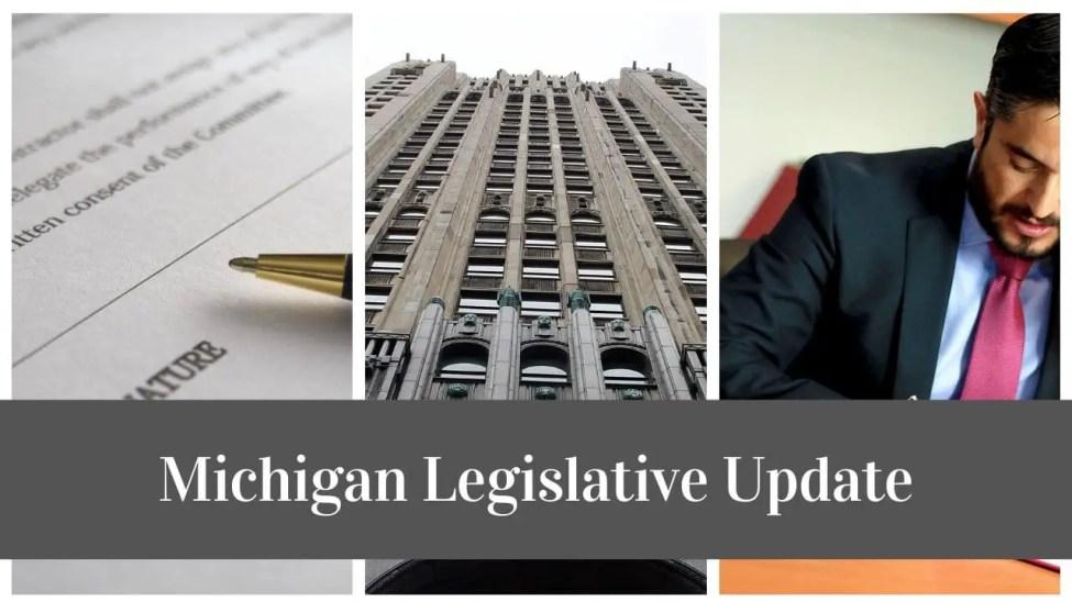 Michigan-Legislative-Update - Commercial Fishing Bills