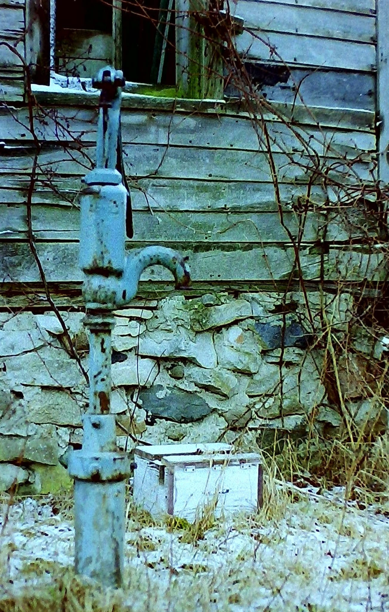 Abandoned Farmhouse Well