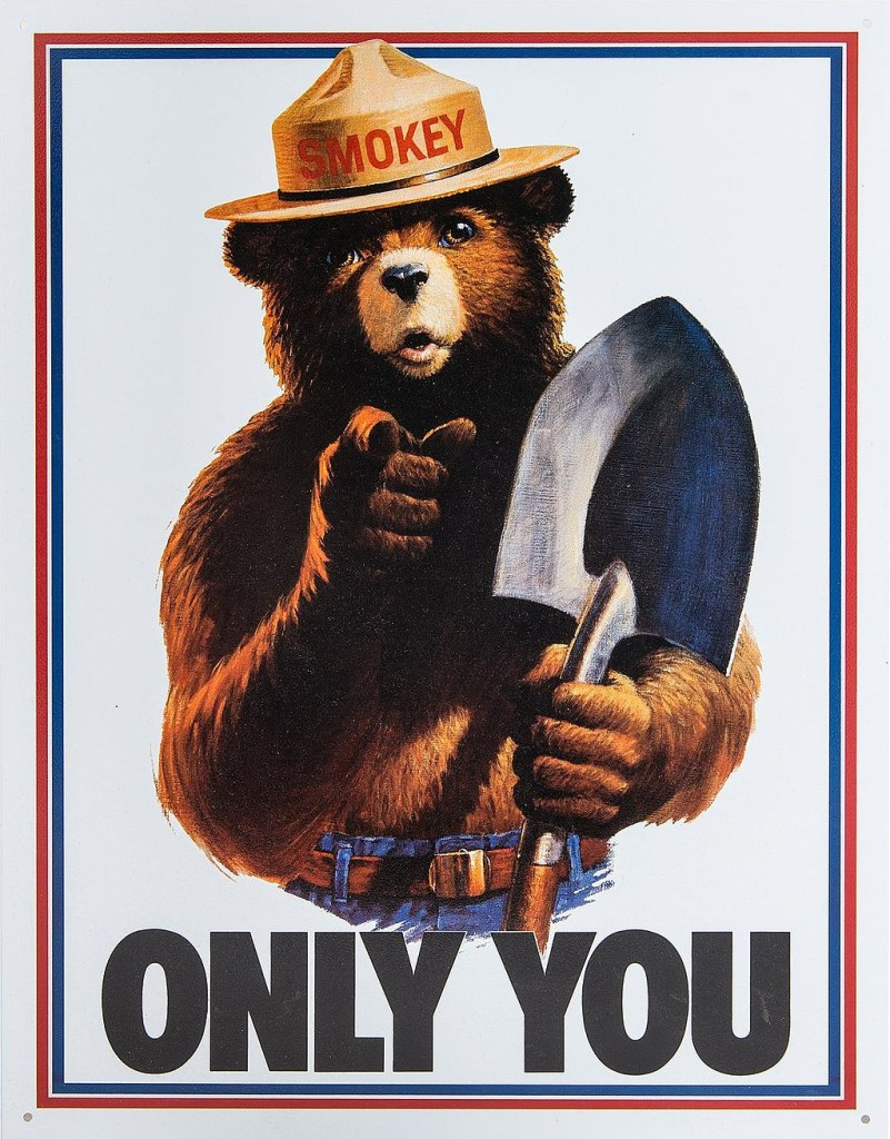 Smokey the Bear Poster