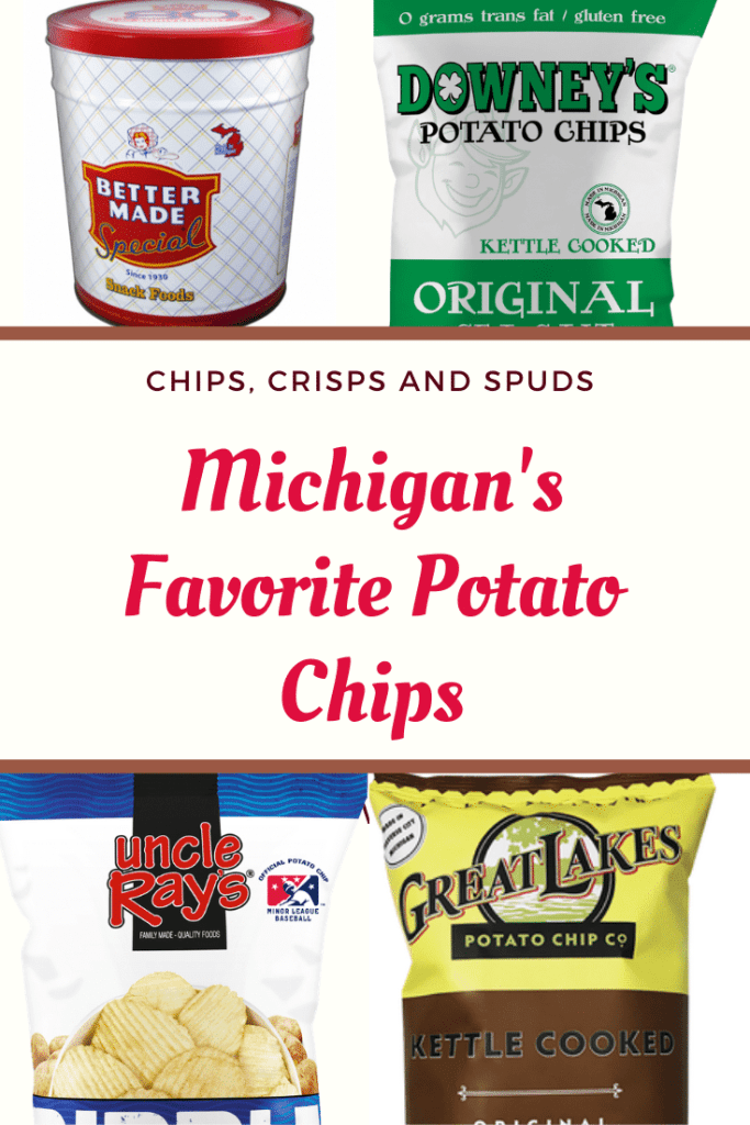 Did you know Michigan is the nation's leading producer of potatoes for making potato chips? Here are four of our best local brands of potato chips in the Great Lakes State.
