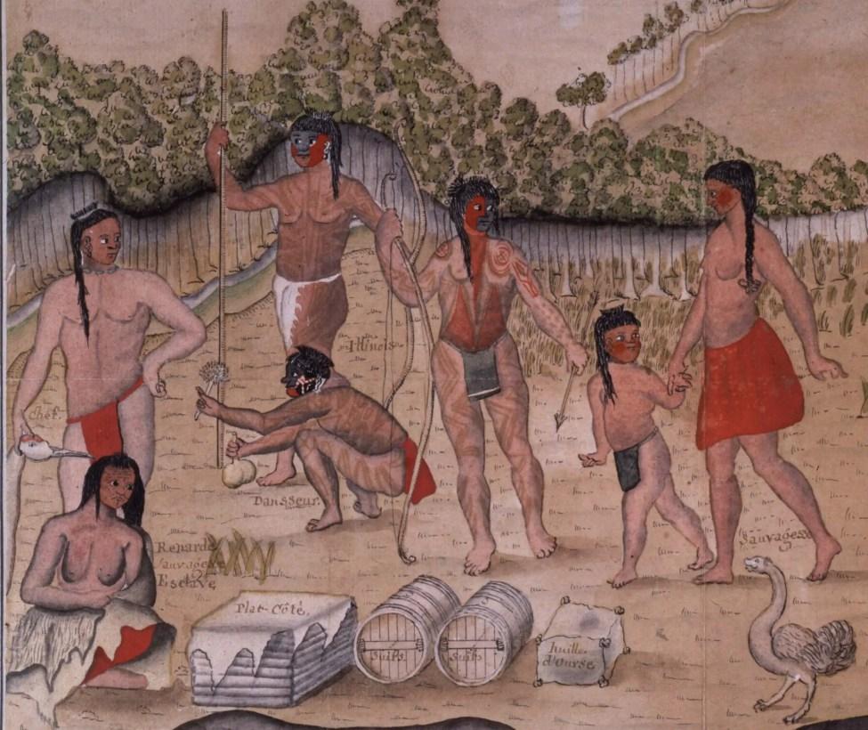 Illinois be Batz 1700s